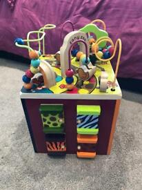 Zany zoo activity cube exc condition £35