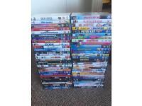 60 DVDs. £15