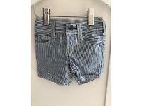 Baby Boys x3 pairs of shorts 3-6m