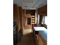 6 berth caravan.