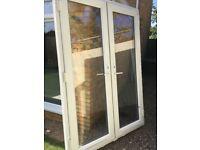 Upcv french doors
