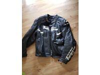 Furygan motorcycle leather jacket.