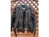 Men's biker jacket xxl goo d condition in black