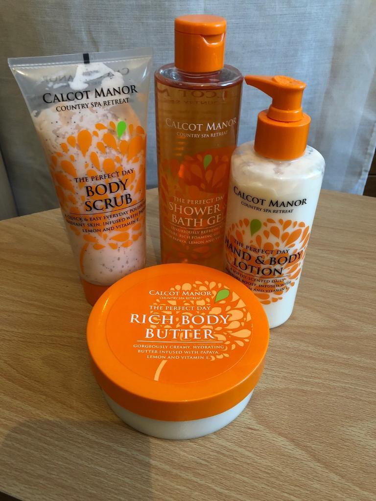 Calcot Manor Bath/Body Products - Brand New