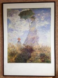 Picture - framed Monet print