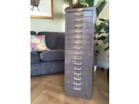 Vintage 15 drawer filing cabinet
