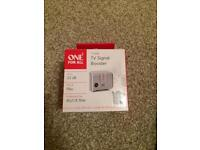 Tv signal booster brand new