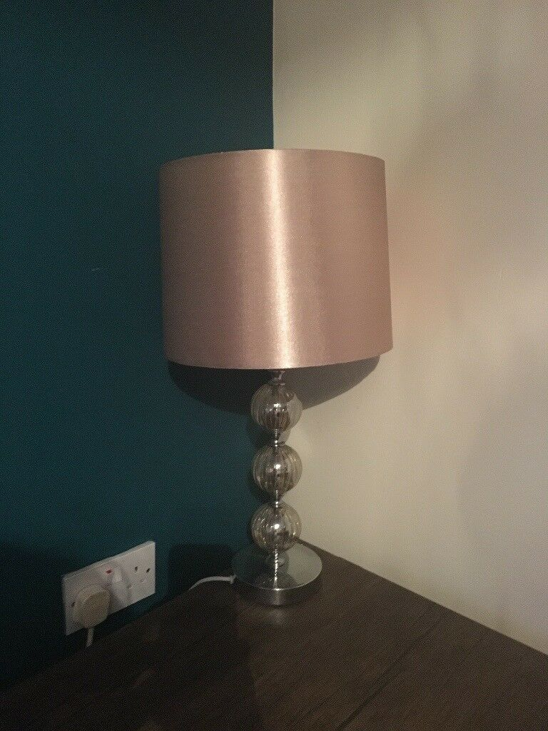Pale gold lamp