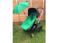 Bugaboo Gecko buggy and pram set with accessories