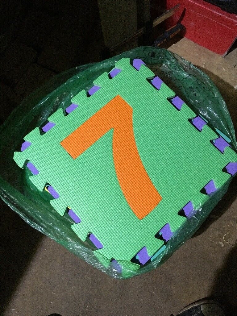 36pcs ALPHABET/NUMBER PLAY MAT TODDLERS CHILDREN SOFT FOAM JIGSAW PUZZLE A-Z