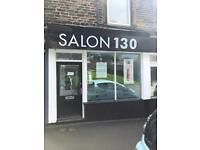 Spacious room to rent within a new, busy hair salon. Beauty room, nails, brows. Space to let.