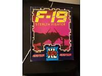 Pc simulator game F-19 Flight simulator
