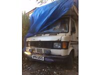 1978 Merc D207 for spares... MAKE OFFER... Flatbed removal only