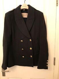 Burberry Brit Ladies Coat - Size 14 - Navy