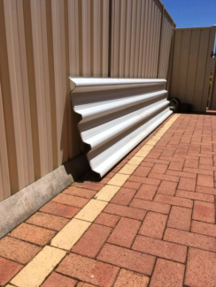 Used stratco roof deck tube and gutter for free   Building