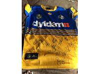 Signed Parramatta Eels NRL Rugby shirt