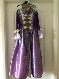 Girls princess fancy dress costume age 5 to 6 years