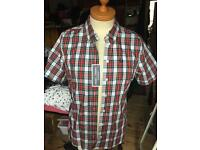 Women's Fred Perry Re-Issue Tartan Shirt Size 16