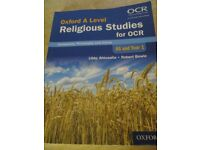 A level Text Book Religious Studies for OCR : AS and Year 1