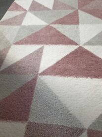Beautiful geo rug from the range