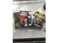 Athlete biographies (Gerrard, Owen, Flintoff, Guy Martin)