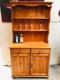 Small cottage style Welsh dresser storage cupboard