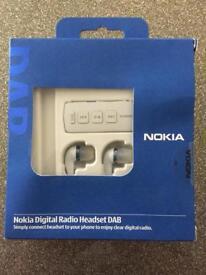 Nokia dab digital radio headset