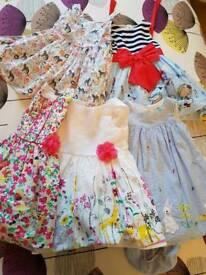 Girls dresses 12-18 months