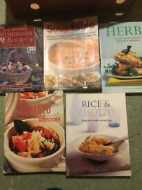 Assorted Cook Books