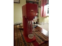 Soda Stream (Red) - Good Condition, Hardly Used