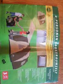 Tent for 4. 5meters long and 1.95 meters high.