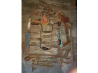 Selection of old hand tools £30 o.n.o