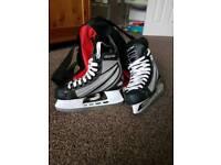 Boys Ice hockey boots size 2