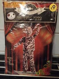 Mischievous mummy age Halloween costume 3/4 £4
