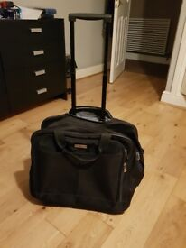 Laptop flight bag with trolly