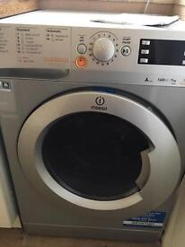 Indesit washer Dryer - Silver