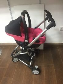 maxi cosi pebble pink car seat (X-Display)