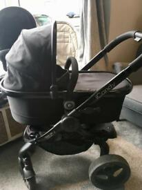 iCandy Peach 3 Pram in Jet Black