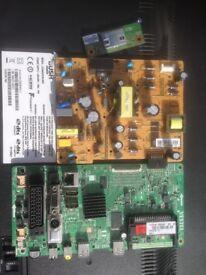 Bush Led 40 287FHDCNTD led tv parts