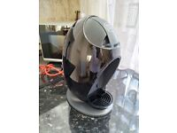 Coffee machine NESCAFE DOLCE GUSTO, black, like new, used only 1 year