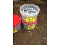 5kilo bucket of nails new