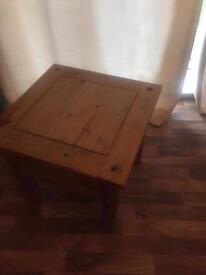 Mexican Pine Unit / Side Table