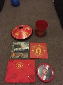 Man Utd items!