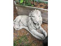 Stone Garden Lions