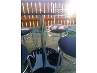 Dining set, table and chairs