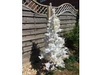 White xmas tree slight discolour marks
