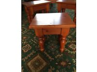 Set of four tables