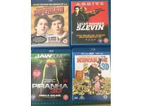 Blue ray movies 8 different ones