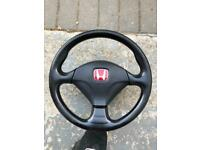Honda Civic ep3 Premier edition momo steering wheel.
