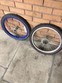 Bike wheel size 20